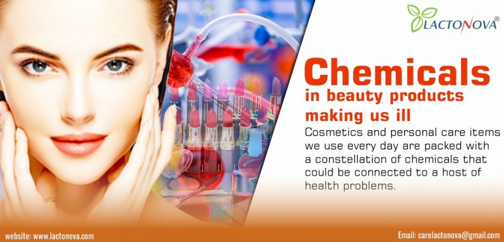 Chemicals in beauty products making us ill