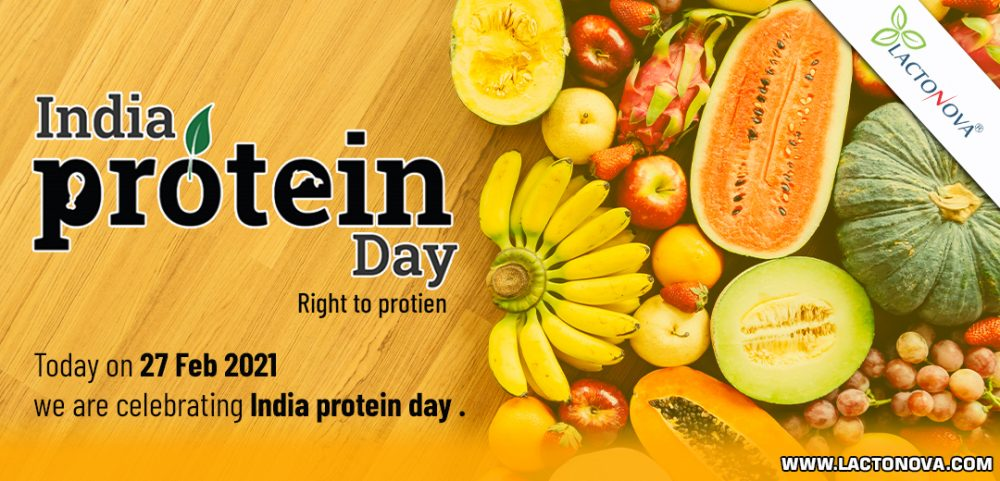 India protein day: Right to protein.
